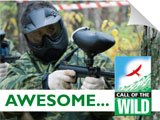 Paintball as an activity idea for a stag weekend with call of the Wild