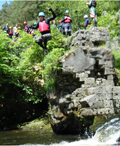 Canyoning in Brecon Beacons
