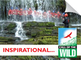 outdoor team building canyoning