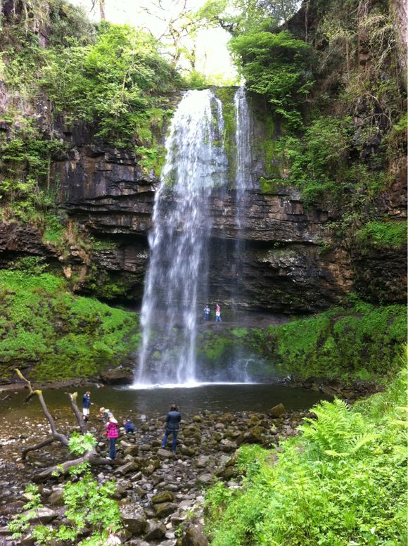 Henrhyd Waterfall, Brecon Beacons