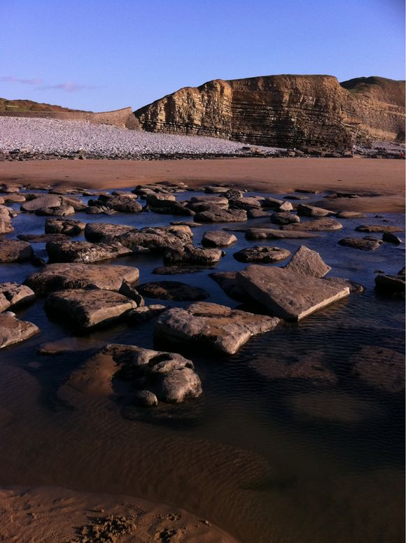 Welsh Coast, Southerndown Today