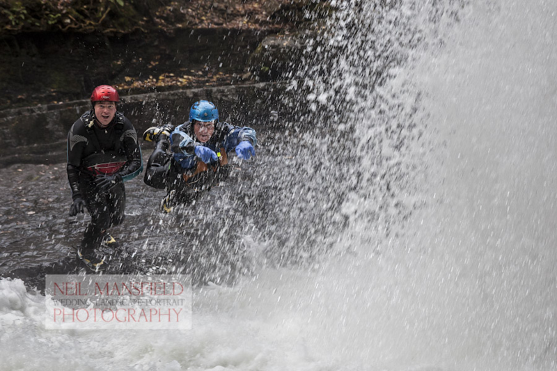 Canyoning with Adventure Britain