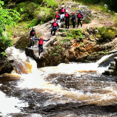 Stag  Party Activities - Canyoning