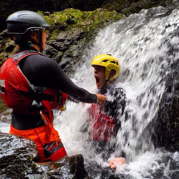 Stag Activity Ideas - Gorge Walking