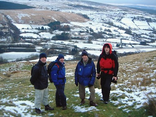Stag party hill walk